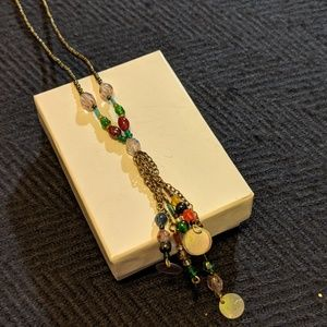 90's Funky Y Necklace